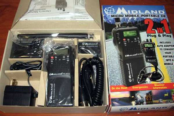 Midland 75-822 40 Channel CB-Way Radio Review