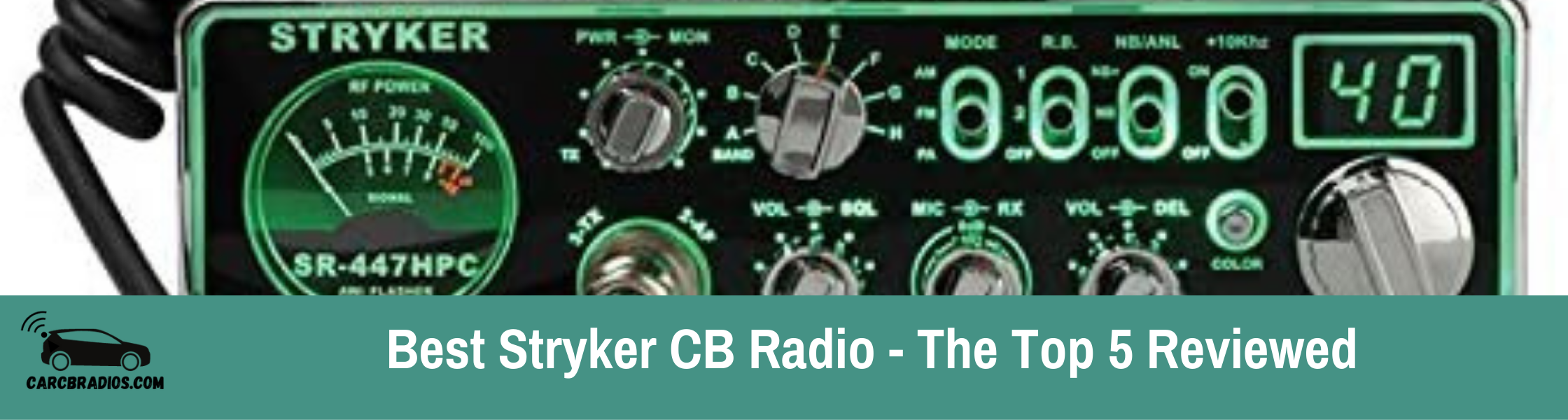 Best Stryker CB Radio - The Top 5 Reviewed: Stryker makes a high-quality 10 meter radio that can be converted to CB radios. Here are the 5 best that you can purchase