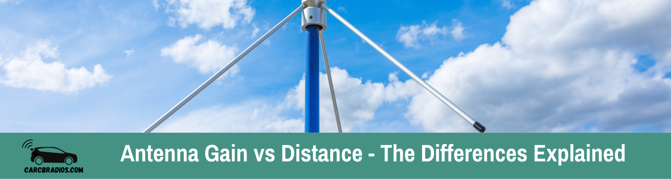 Antenna Gain vs Distance: There is certainly some correlation between distance and gain; however, there are other factors that also play a role in determining an antenna's signal strength at any particular location.