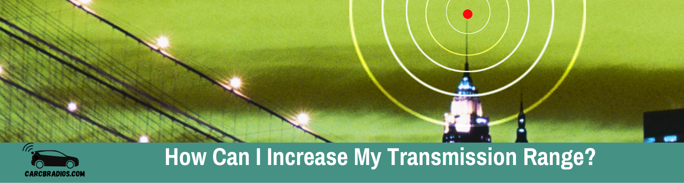 How Can I Increase My Transmission Range?: The distance you can communicate with your walkie-talkie is a function of signal strength, antenna gain, weather and atmospheric conditions, terrain, building materials, and other obstructions between the transmitter and receiver.