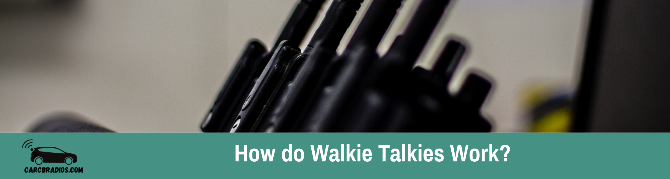 How do Walkie Talkies Work?: It works like this: human speech is converted into vibrations that travel through the air at a certain frequency, which we hear as sounds.