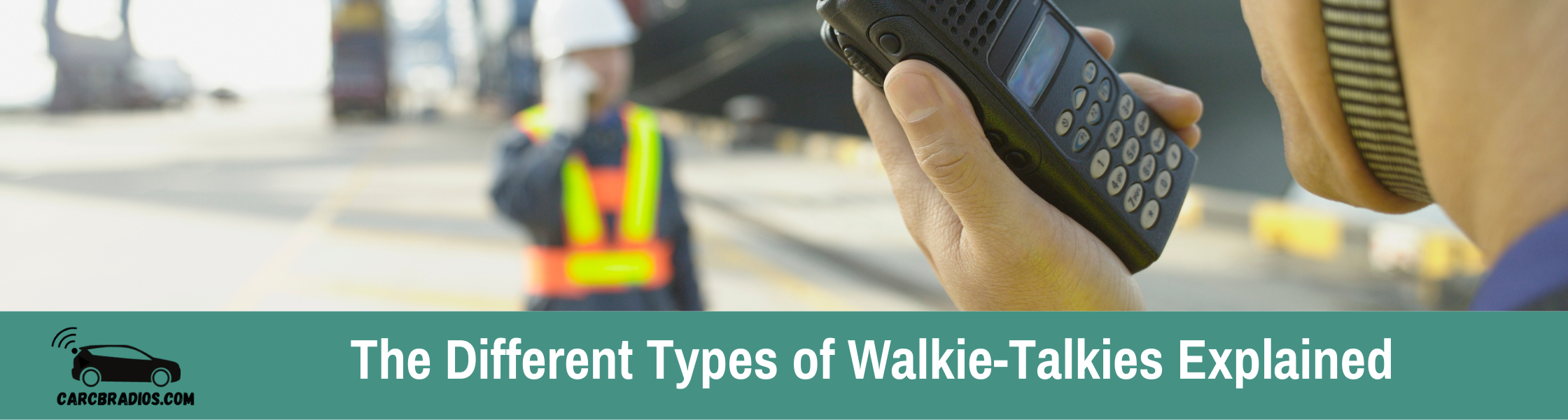 The Different Types of Walkie-Talkies Explained: The two most common types of walkie-talkies are Family Radio Service (FRS), and General Mobile Radio Service..