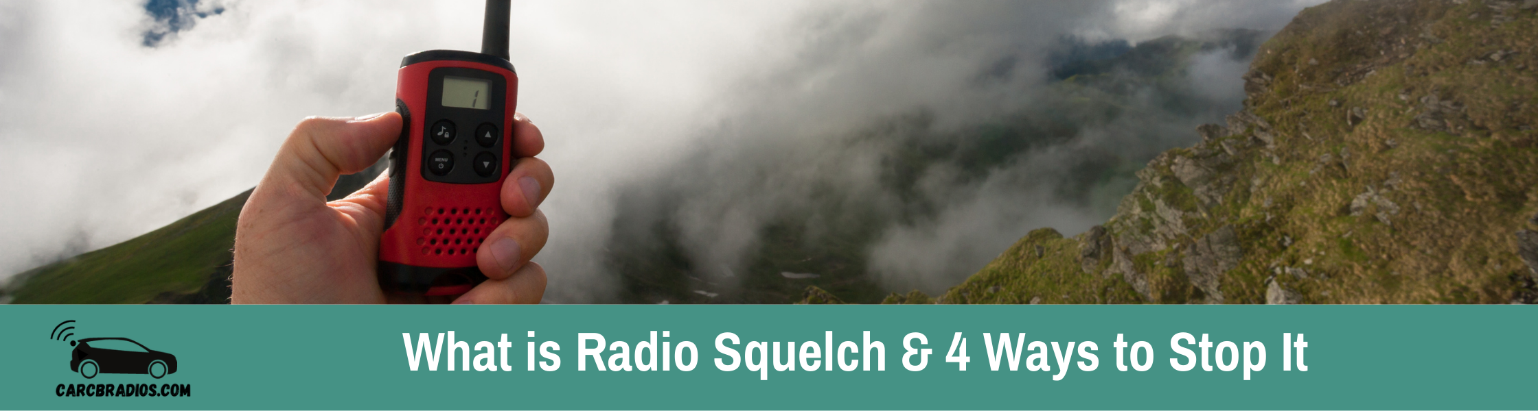 What is Radio Squelch: Squelch is the noise reduction system of a Walkie-talkie. The squelch level is used to control unwanted background noise and prevent false triggering from noise when no one is transmitting.