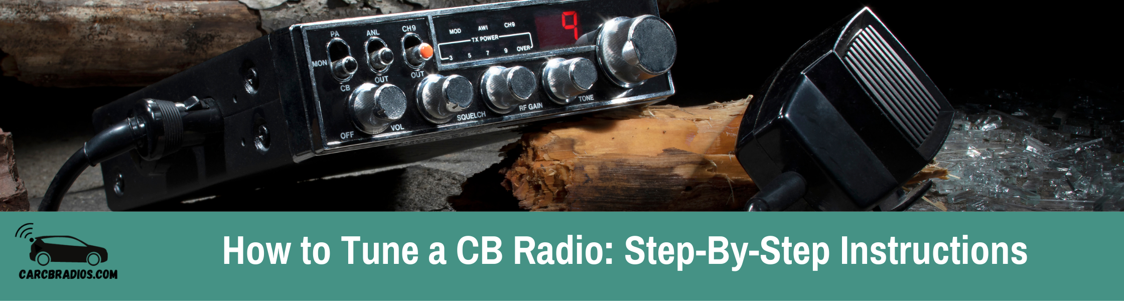 How to Tune a CB Radio - Step-By-Step Instructions: Trying to tune your CB radio? Learn what SWR is, how it can help you tune your CB radio, and why it's important.