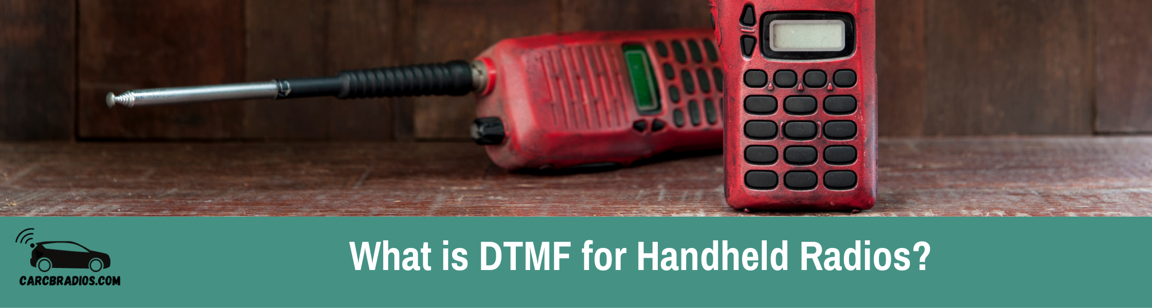 What is DTMF for Handheld Radios?: DTMF for handheld radios are tones on radios that are frequently utilized to transmit instructions via radio waves, such as repeater control, autopatch access, and IRLP access. DTMF can also be used to call or notify another station on a selective basis.